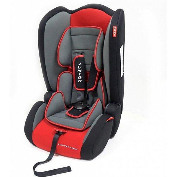 Детское автокресло Rant Safety Line Junior (Черный/красный)