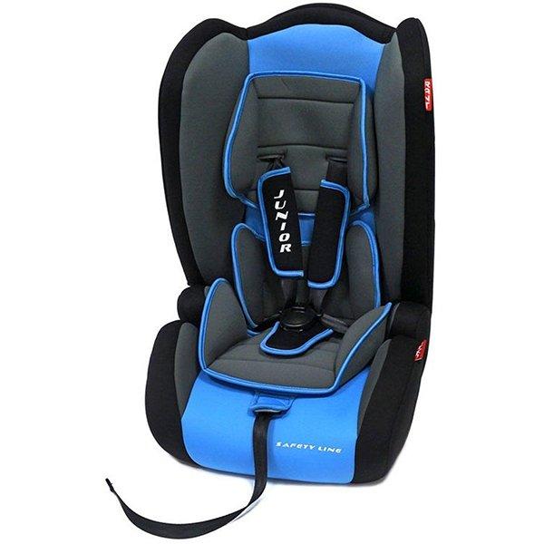 Детское автокресло Rant Safety Line Junior (Черный/голубой)