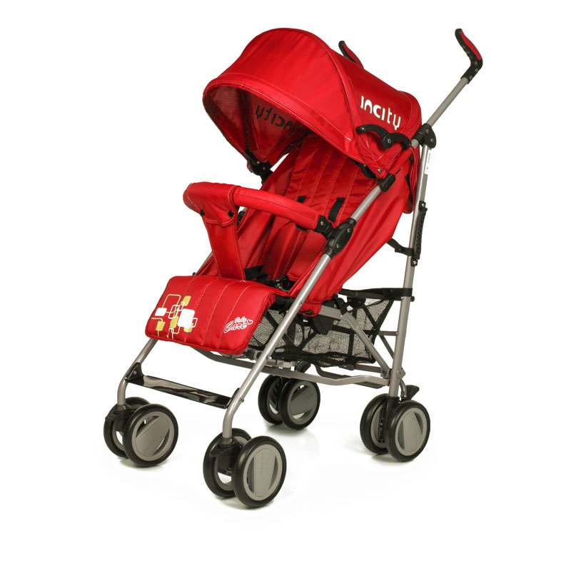 Детская коляска-трость Baby Care In City (красный)