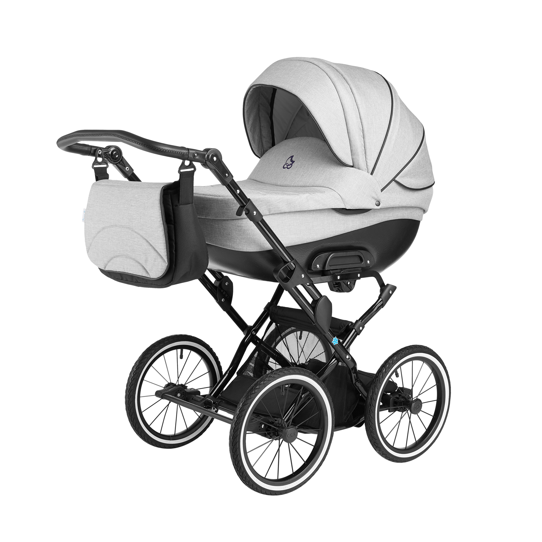 Детская коляска Noordline Olivia Classic 2 в 1 (Серый)