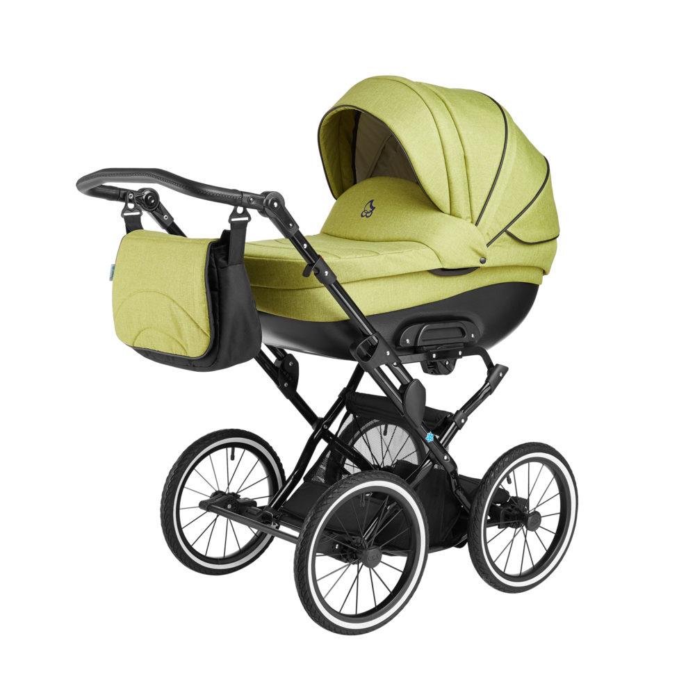 Детская коляска Noordline Olivia Classic 3 в 1 (зеленый)