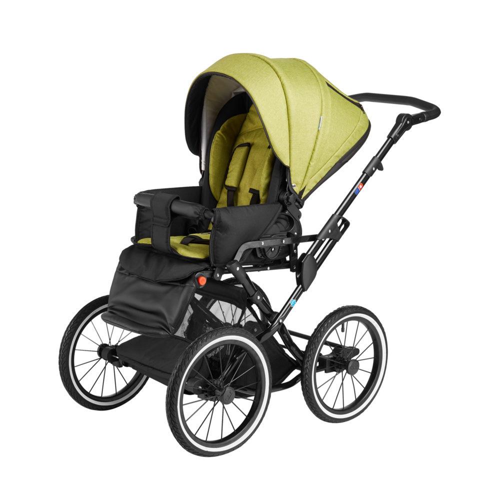 Детская коляска Noordline Olivia Classic 2 в 1 (зеленый)