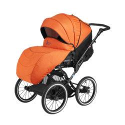 Детская коляска Noordline Olivia Classic 3 в 1 (оранжевый)