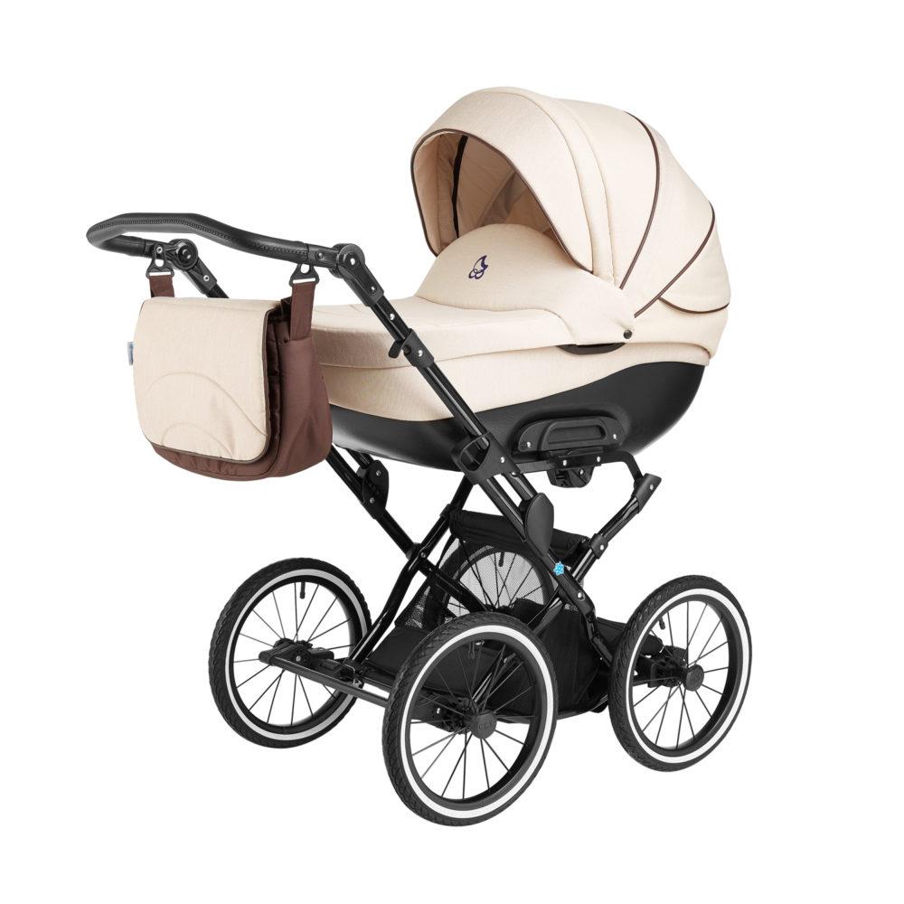 Детская коляска Noordline Olivia Classic 3 в 1 (Бежевый)