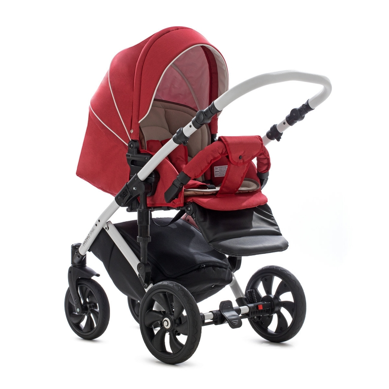 Детская коляска Tutis Mimi Style 3 в 1 New 2019 №330 (Красный)