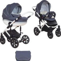 Детская коляска Tutis Mimi Style 2 в 1 New 2018 №346 (Синий)