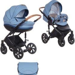 Детская коляска Tutis Mimi Style 2 в 1 New 2018 №347 (Голубой)