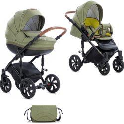 Детская коляска Tutis Mimi Style 2 в 1 New 2019 №326 (Оливковый)