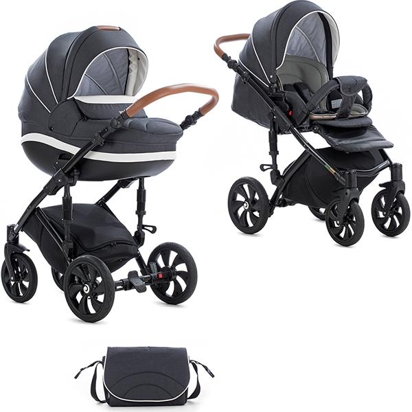 Детская коляска Tutis Mimi Style 2 в 1 New 2019 №328 (Черный)