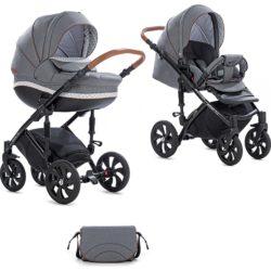 Детская коляска Tutis Mimi Style 2 в 1 New 2019 №332 (Серый)