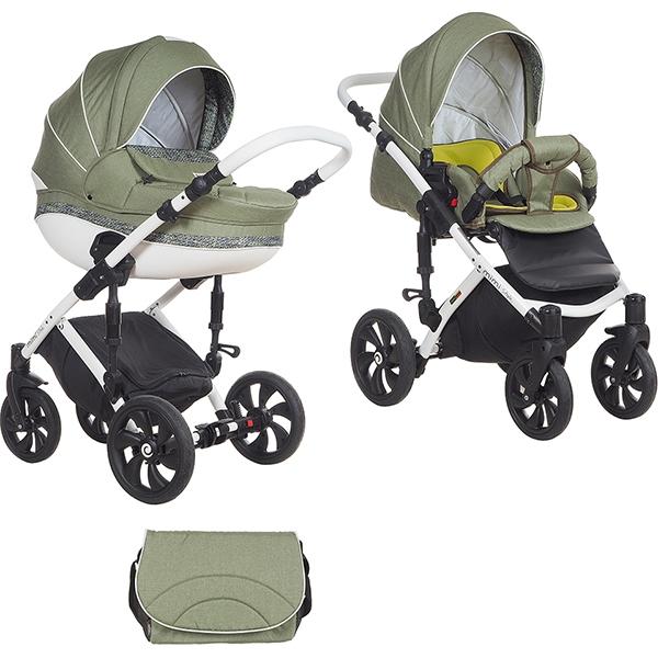 Детская коляска Tutis Mimi Style 2 в 1 New 2018 №337 (Зеленый)