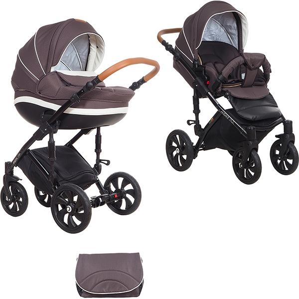 Детская коляска Tutis Mimi Style 2 в 1 New 2018 №341 (Коричневый)
