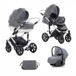 Детская коляска Tutis Mimi Style 3 в 1 New 2018 № 331 (Серый)