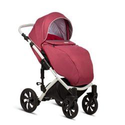 Детская коляска Tutis Mimi Style 2 в 1 New 2019 №390 (Розовый)