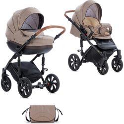 Детская коляска Tutis Mimi Style 3 в 1 New 2019 №325 (Коричневый)