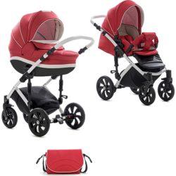 Детская коляска Tutis Mimi Style 2 в 1 New 2019 №330 (Красный)