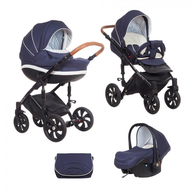 Детская коляска Tutis Mimi Style 3 в 1 New 2018 №340 (Синий)