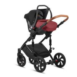 Детская коляска Tutis Mimi Style 3 в 1 (красный)