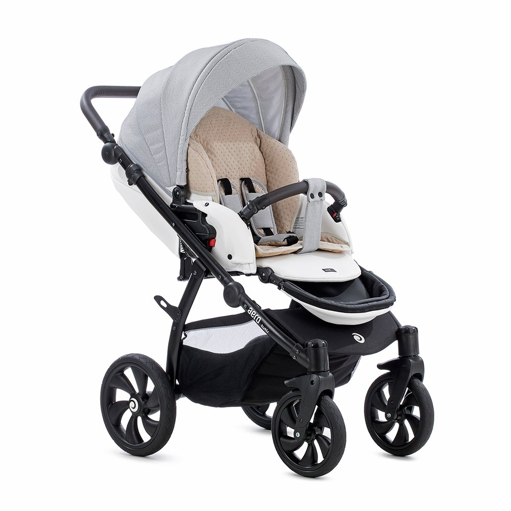Детская коляска Tutis Aero 2 в 1 (серый/белый)