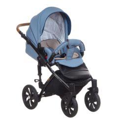 Детская коляска Tutis Mimi Style 3 в 1 New 2018 №347 (Голубой)