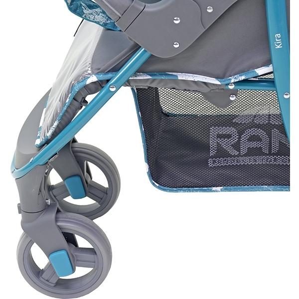 Прогулочная коляска Rant Kira, 2017 (голубой с рисунком)