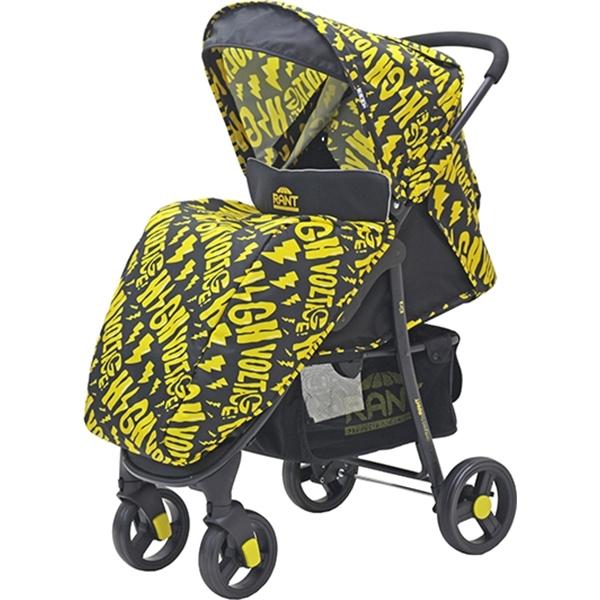Прогулочная коляска Rant Kira, 2017 (желтый с рисунком)
