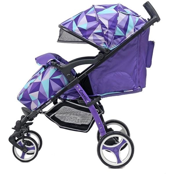 Детская прогулочная коляска Rant Cosmic Alu (Фиолетовый)