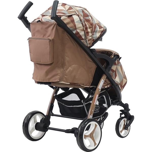 Детская прогулочная коляска Rant Cosmic Alu (Коричневый)