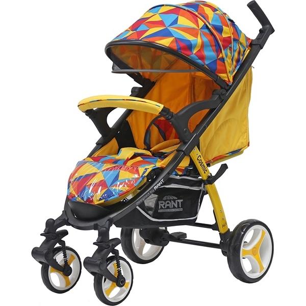 Детская прогулочная коляска Rant Cosmic Alu (Желтый)