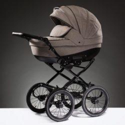 Детская коляска Esperanza Lotus Boss Classic 3 в 1 (Светло-серый)