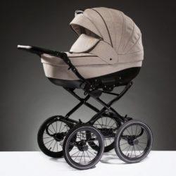 Детская коляска Esperanza Lotus Boss Classic 3 в 1 (светло-коричневый)