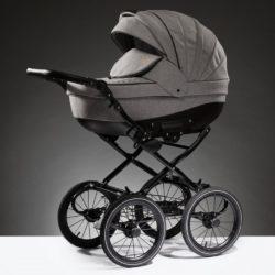 Детская коляска Esperanza Lotus Boss Classic 3 в 1 (Серый)