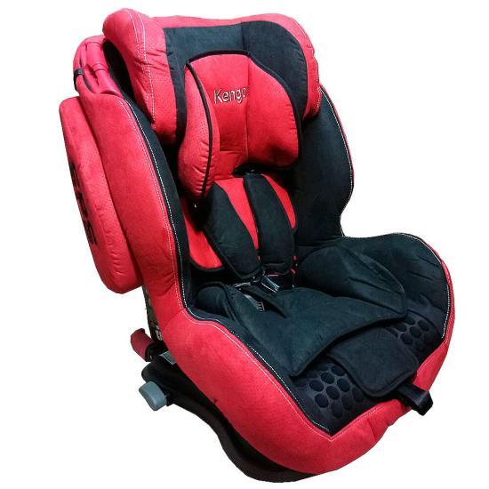 Детское автокресло Kenga c isofix premium (Красный/черный)