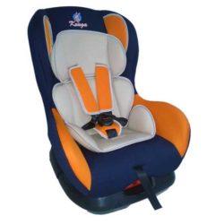 Детское автокресло Kenga группа: 0+/1 (Оранжевый/синий)