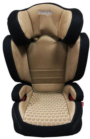 Детское автокресло Kenga premium plus (ISOFIX) (Бежевый/черный)