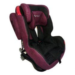 Детское автокресло Kenga c isofix premium (Бордовый/черный)