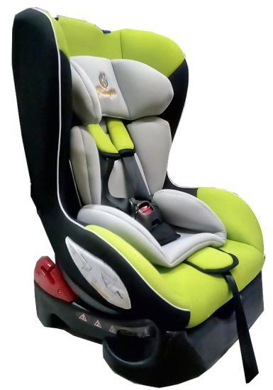 Детское автокресло Kenga группа: 0+/1 (0-4 лет) (Зеленый/черный)