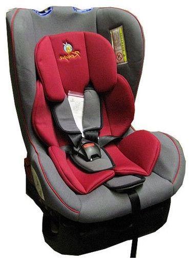 Детское автокресло Kenga группа: 0+/1 (0-4 лет) (Серый/красный)