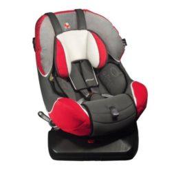 Детское автокресло Renolux 360 гр. 0+/1 (Серый/красный)