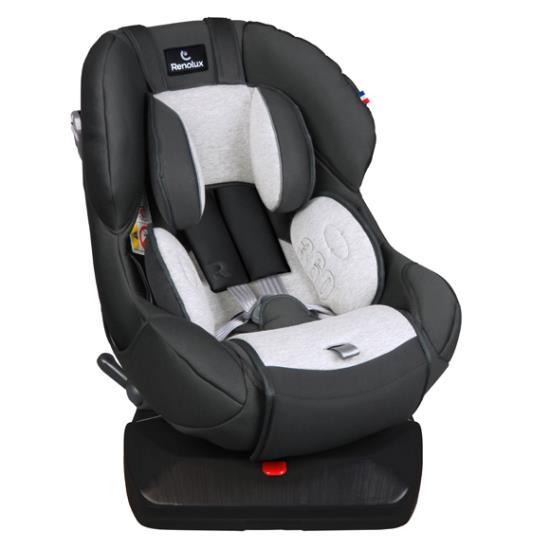 Детское автокресло Renolux 360 гр. 0+/1 (Чёрный/серый)