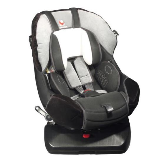 Детское автокресло Renolux 360 гр. 0+/1 (Серый)