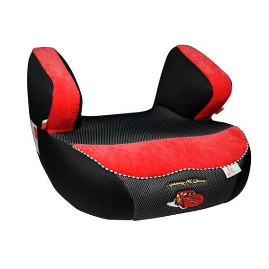 Детское автокресло бустер Renolux Jet гр. 3 (Черный/красный)