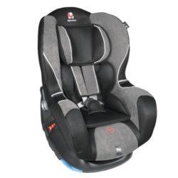 Детское автокресло Renolux Stream гр. 0+/1 (Чёрный/серый)