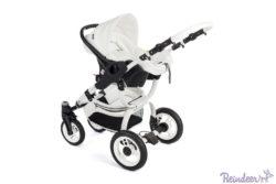 Детская коляска-люлька Reindeer City Prestige Wiklina люлька+автокресло с конвертом (белый)