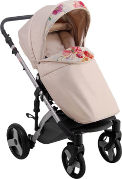 Детская коляска LONEX COMFORT CARRELLO 2 В 1 (Бежево-оранжевый)