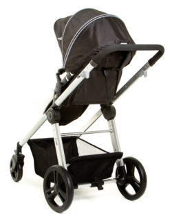 Детская коляска 3 в 1 Ramili Baby Lite TS (Черный)