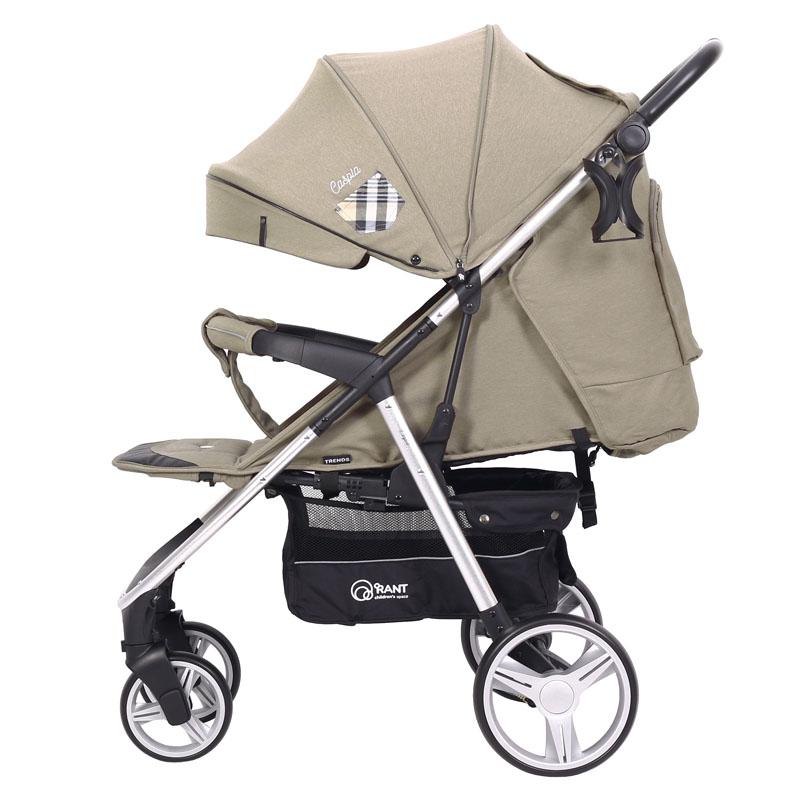 Детская прогулочная коляска Rant Caspia Trends (Бежевый)