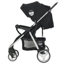 Детская прогулочная коляска Rant Caspia Trends (Черный)