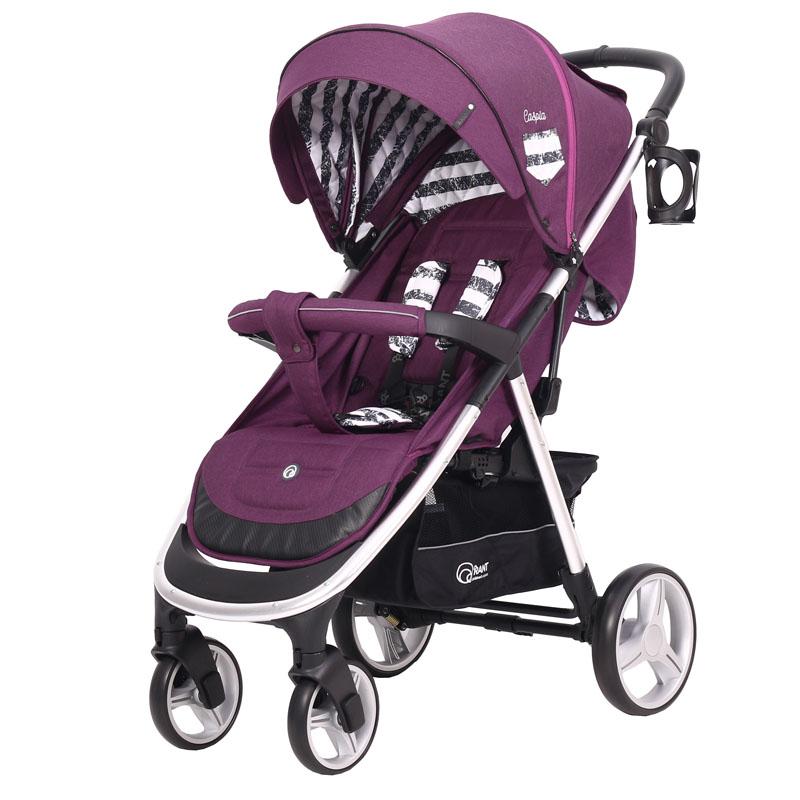 Детская прогулочная коляска Rant Caspia Trends (Фиолетовый)