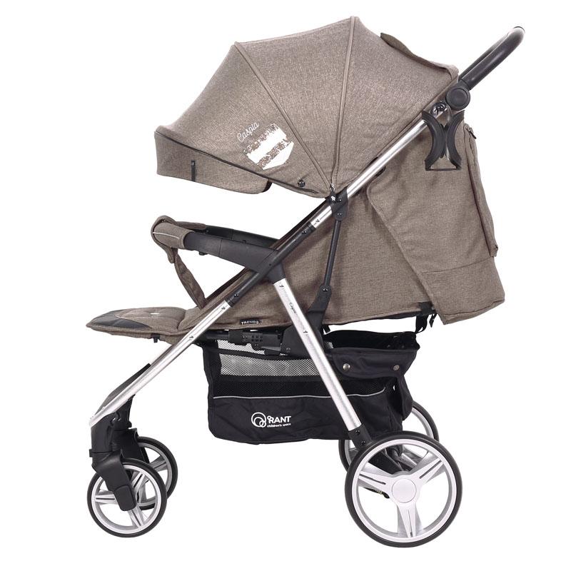Детская прогулочная коляска Rant Caspia Trends (Коричневый)